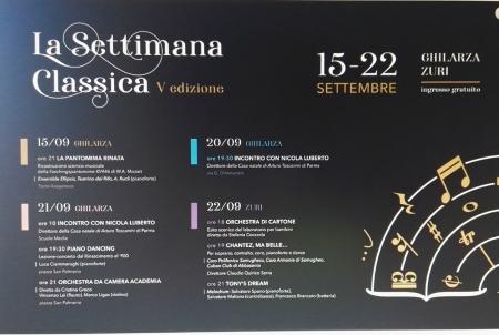 Ghilarza via D'Annunzio: La settimana Classica