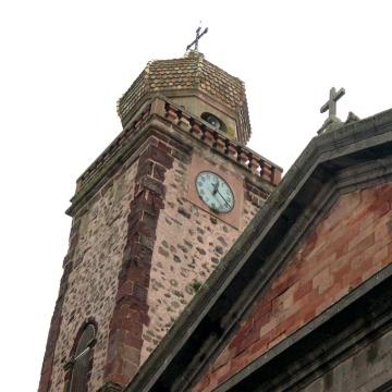 Chiesa Parrocchiale campanile e orologio