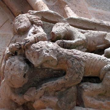 Chiesa di San Pietro di Zuri - Capitello
