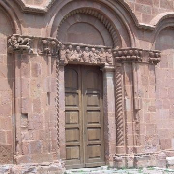 Chiesa di San Pietro di Zuri - Portone