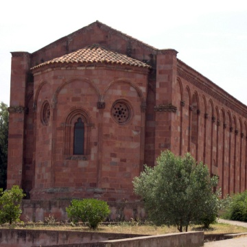 Chiesa di San Pietro di Zuri - Retro