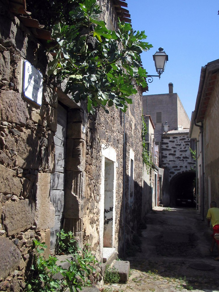 Centro storico di Ghilarza