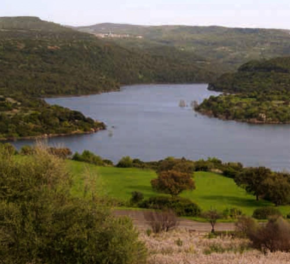 Veduta sul territorio di Ghilarza