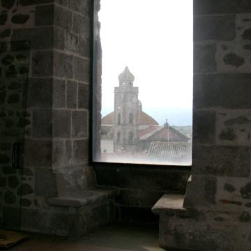 La torre Aragonese - Veduta dall